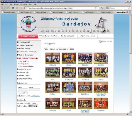 Oblastn� futbalov� zv�z Bardejov