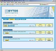 Realitná agentúra RA BYTOS - homepage