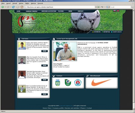 Central Sport Management, Ltd.
