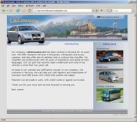 llimousine homepage