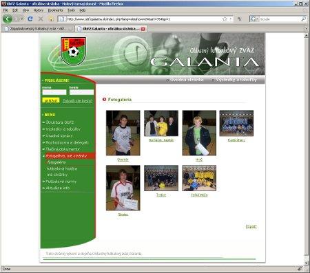 Oblastný futbalový zväz Galanta