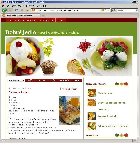 Dobré recepty - blog o varení a pečení